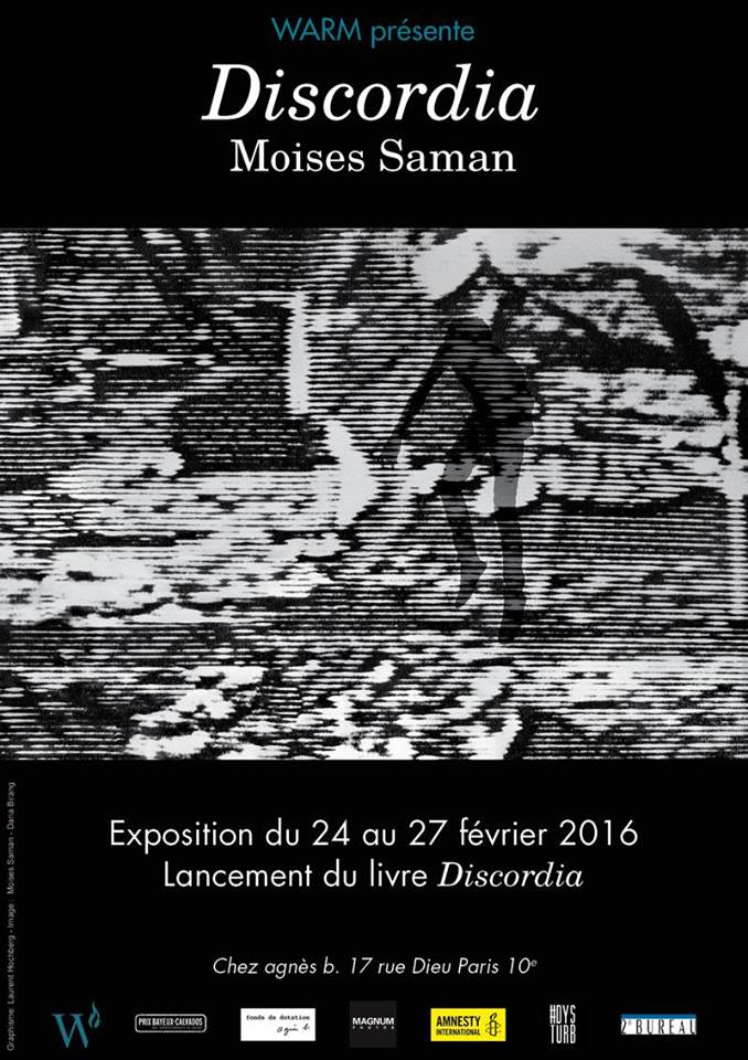 Affiche Exposition Discordia Moses Saman